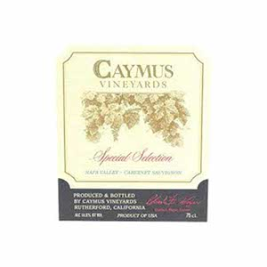Caymus Vineyards Special Selection 1992 Cabernet Sauvignon