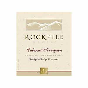 Mauritson Rockpile Winery Ridge Vineyard 2011 Cabernet Sauvignon