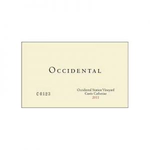 Occidental Station Cuvee Catherine 2011 Pinot Noir