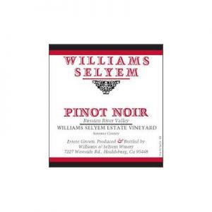 Williams Selyem Estate Vineyard 2012 Pinot Noir