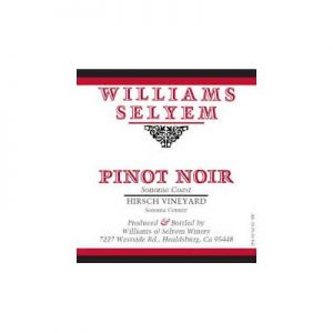 Williams Selyem Hirsch Vineyard 2013 Pinot Noir
