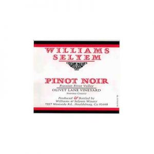 Williams Selyem Olivet Lane Vineyard 2016 Pinot Noir