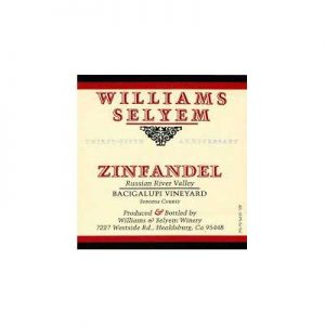 Williams Selyem Bacigalupi 2008 Zinfandel