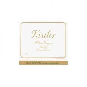 Kistler Vineyards Mccrea Vineyard 2012 Chardonnay