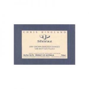 Chris Ringland Dry Grown 1998 Shiraz