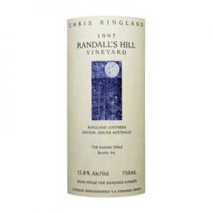 Chris Ringland Randalls Hill 1997 Shiraz