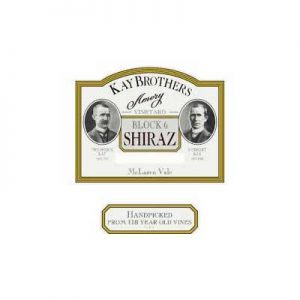 Kay Brothers Amery Vineyards Block 6 1999 Shiraz