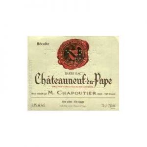 M. Chapoutier Cdp Barbe Rac 1998