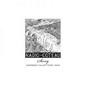 Radio Coteau Savoy Anderson Valley 2016 Pinot Noir