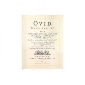 Ovid 2016 Napa Valley Red Wine