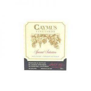 Caymus Vineyards Special Selection 2016 Cabernet Sauvignon